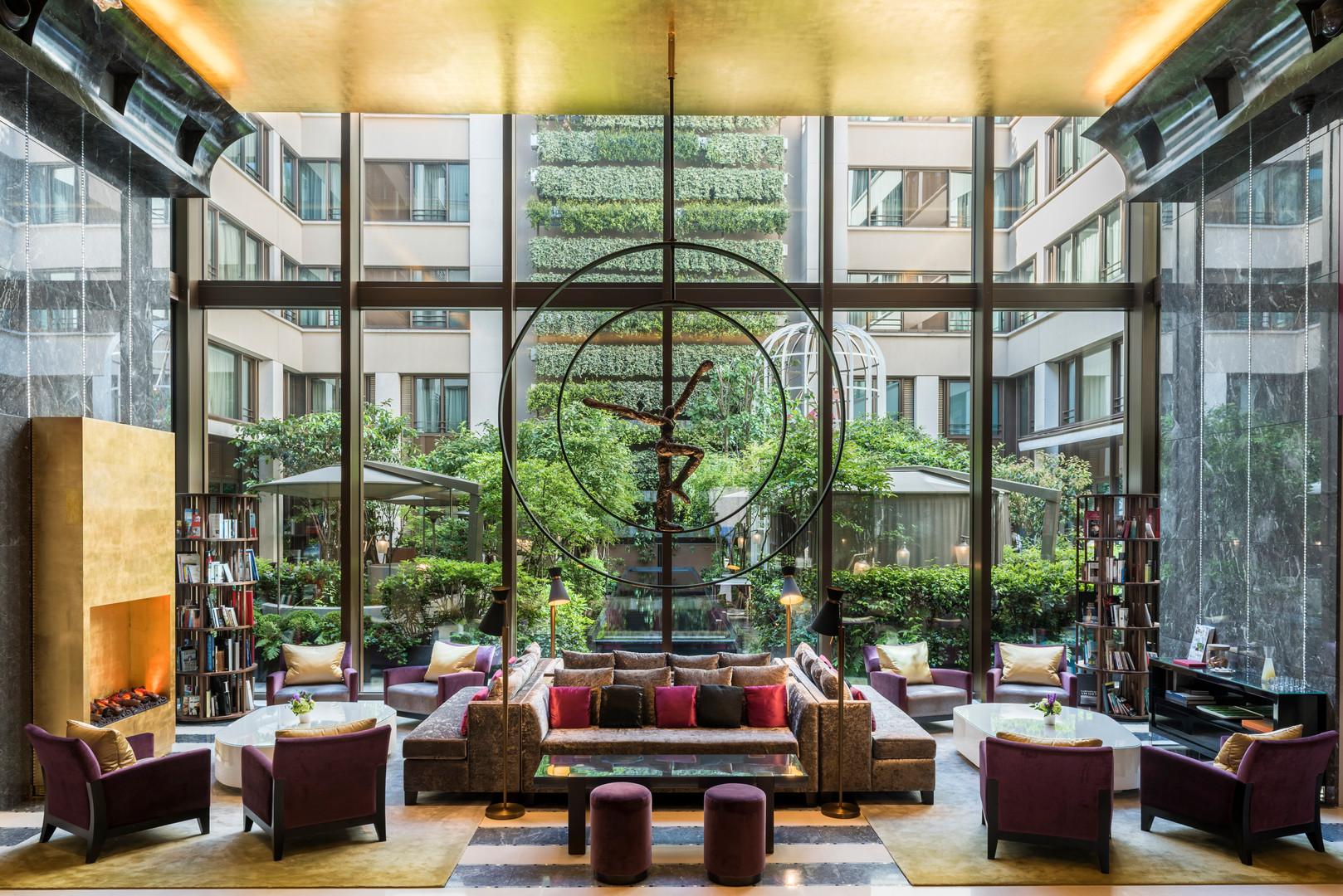 Mandarin Oriental Paris - Le lobby00001.