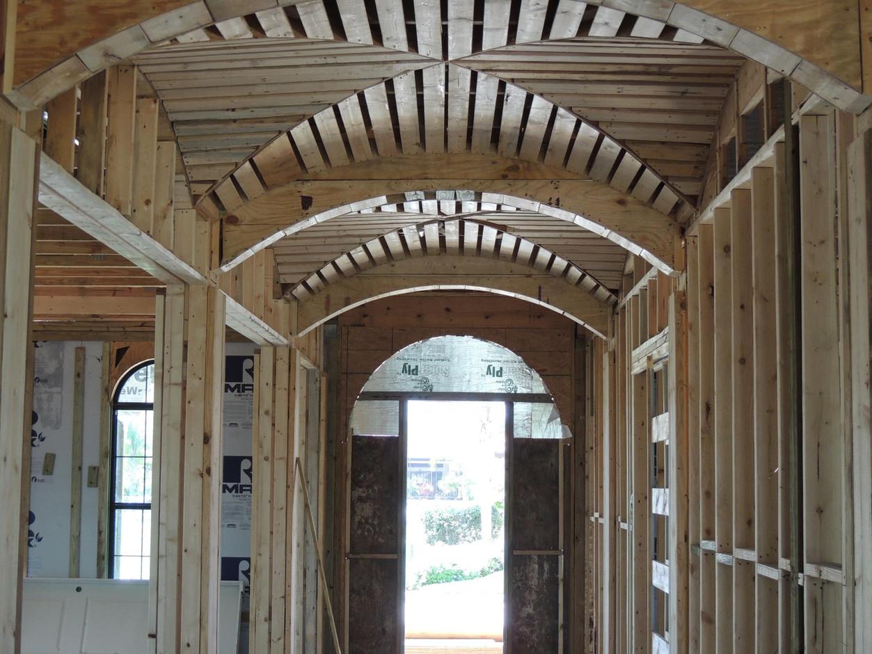 Custom carpentry division - Siesta Key, FL.