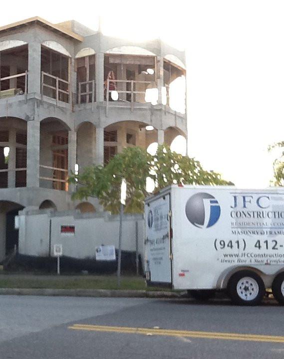 Custom carpentry division - Longboat Key, FL.