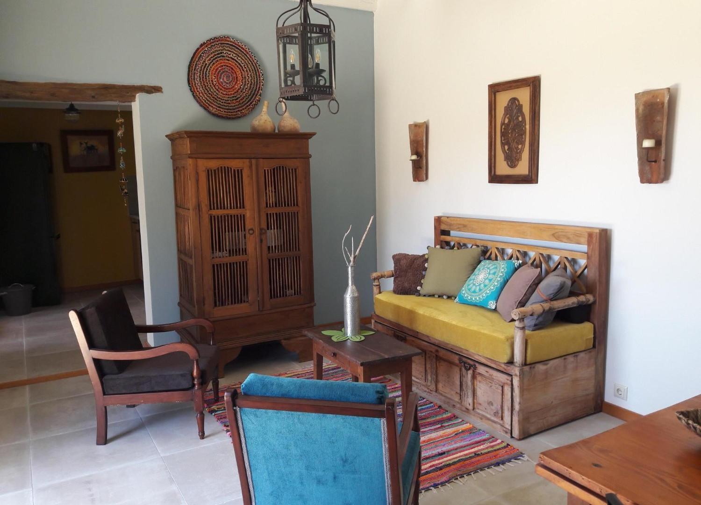 Le salon, Kalyvitis, Crète