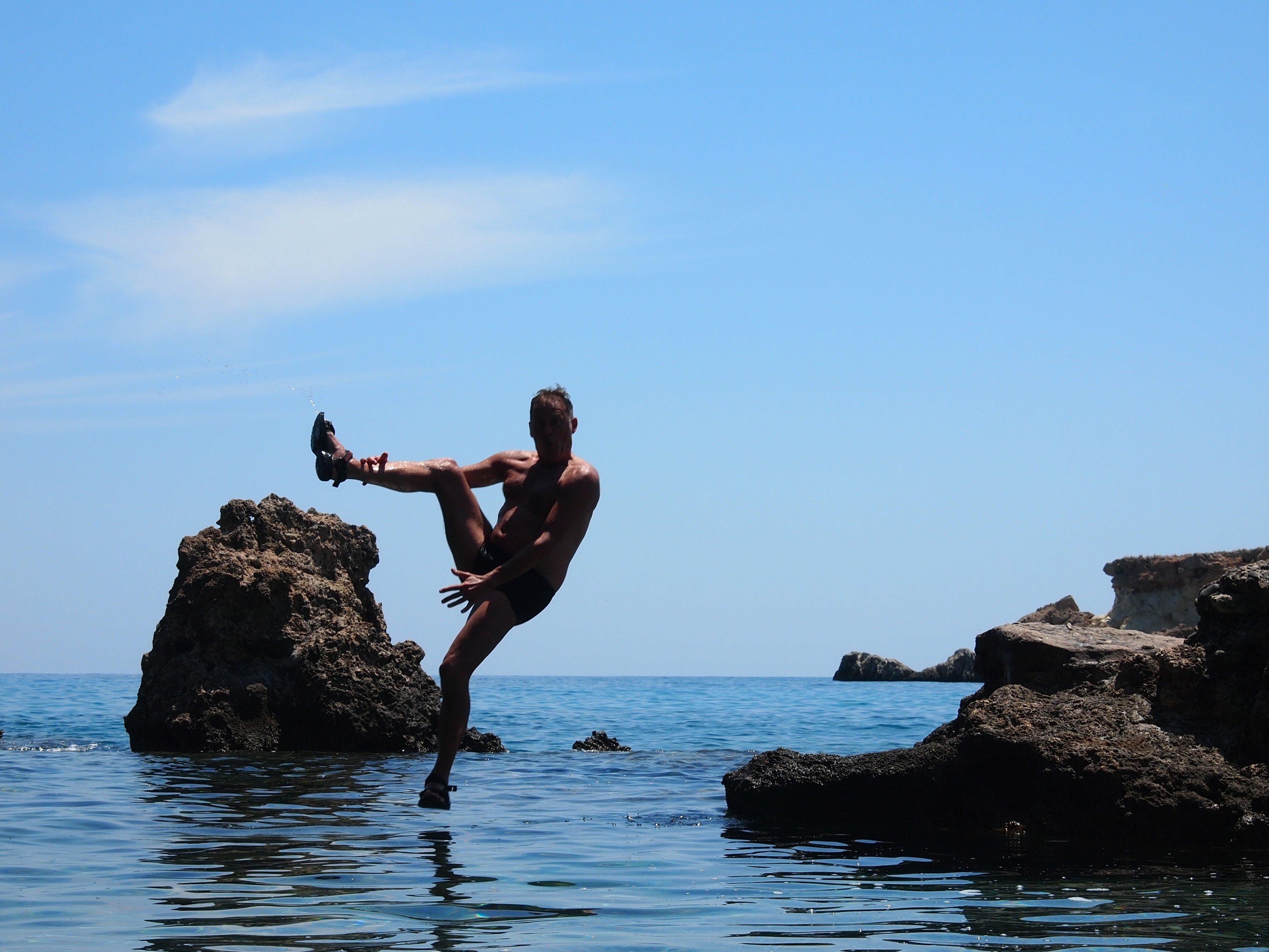 De natuur in op Kreta