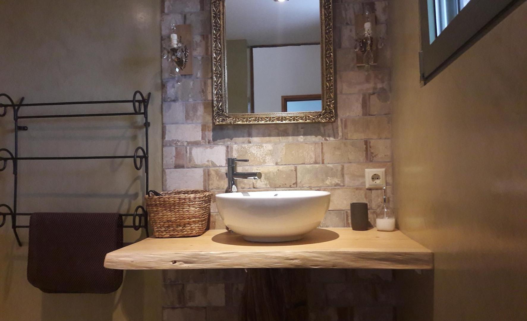 La salle de bain, Kalyvitis, Crète