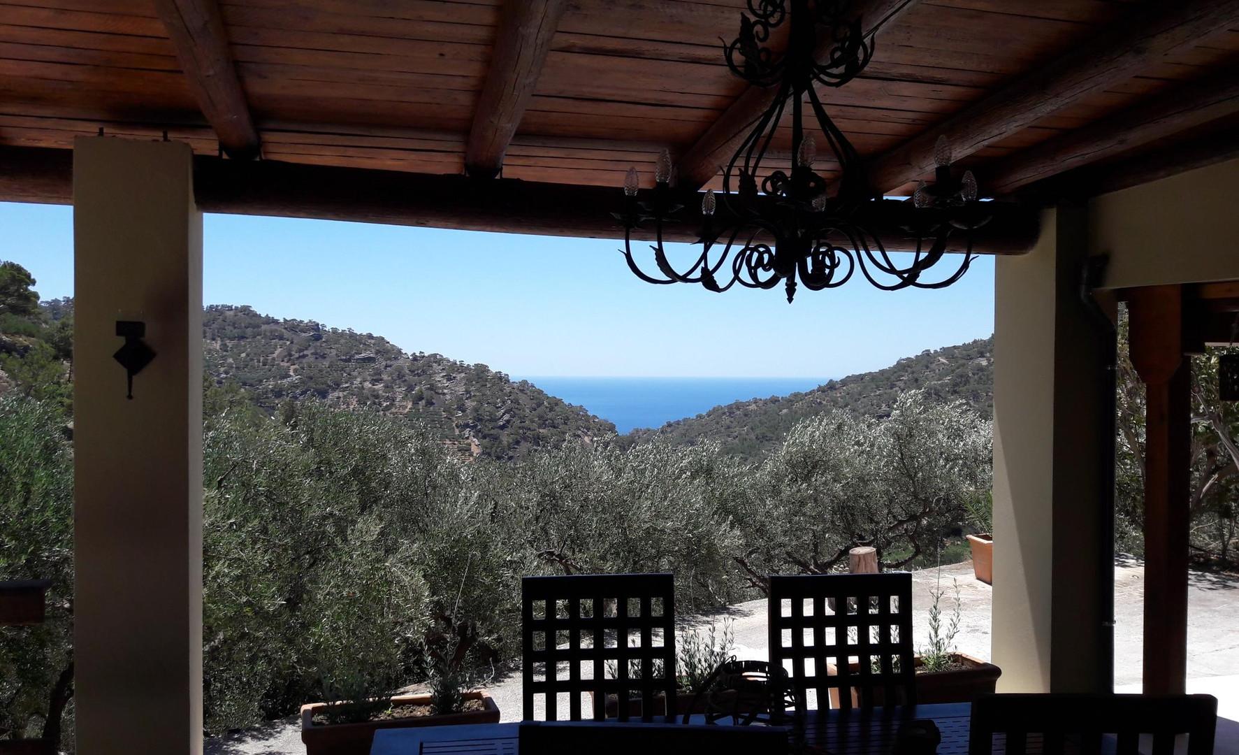 La vue, Kalyvitis, Crète