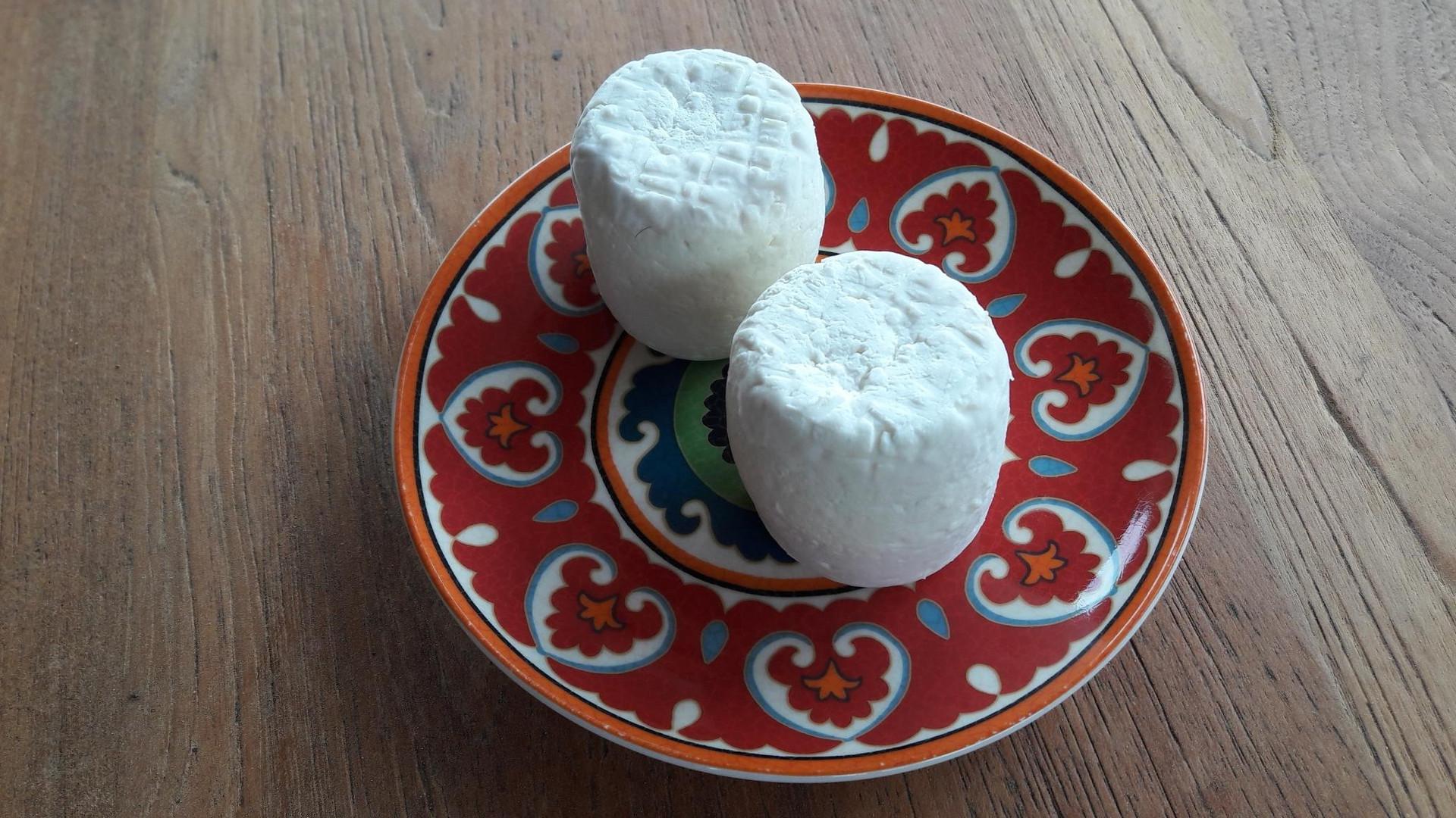 Notre fromage de chèvre, produits biol, Crète