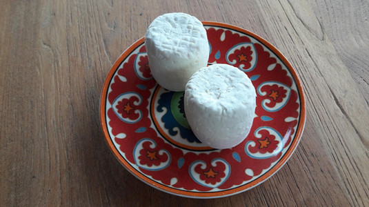 Our home made goat cheese