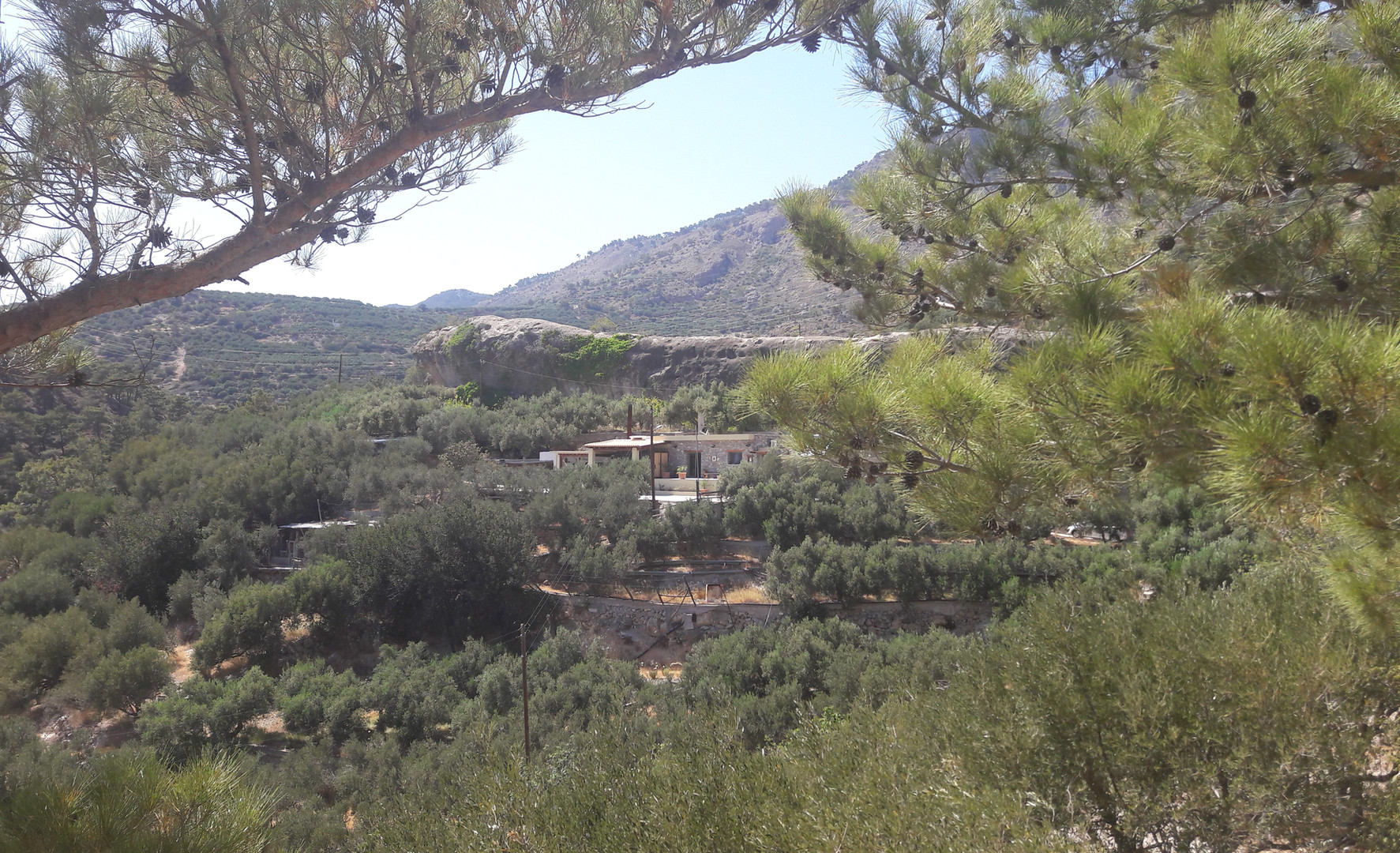 La maison, Kalyvitis, Crète