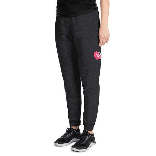Unisex Joggers Jerzees Pink Logo
