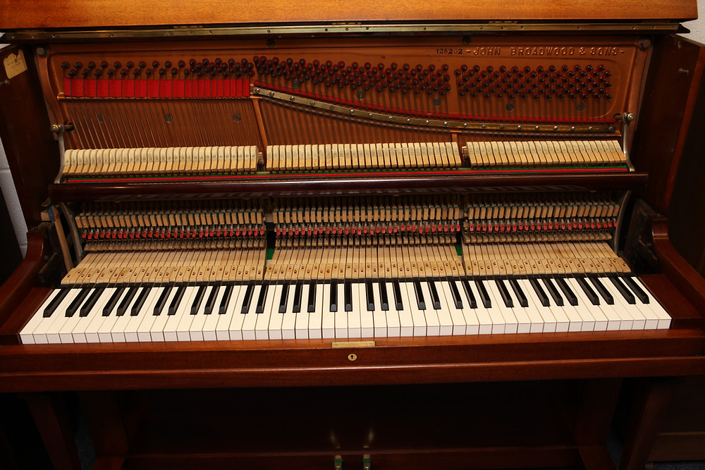Straight-Strung Piano
