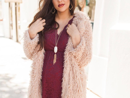 FASHION - 3 Fun and Festive Holiday Looks With Pink Blush + Huge Sales This Week