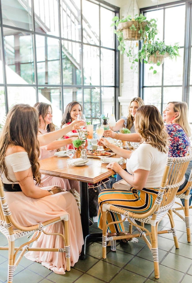 FOOD - One Of The Best Girls Night Out/Dinner Spots In Houston - Emmaline Restaurant