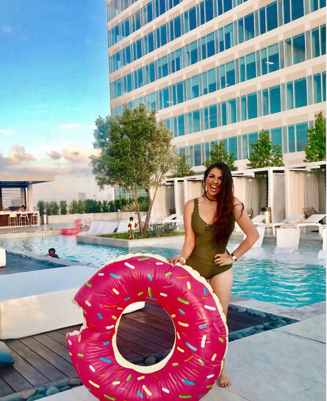 Pool+ Bloggers =Celebration at Kirby Collection Apartments!