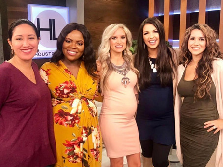 FASHION - How to Dress Your Bump (Houston Life TV Feature)