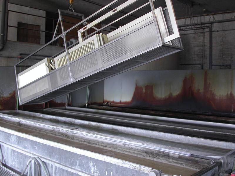 Traitement pièces aluminium