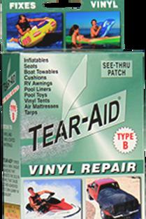 Patch de réparation toile PVC - Tear-Aid® - TYPE B