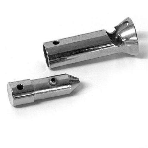 Entonnoir et baïonnette pour tube Ø 15.5
