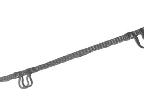 Cordonnet à boucle (gris) pour lames 90mm