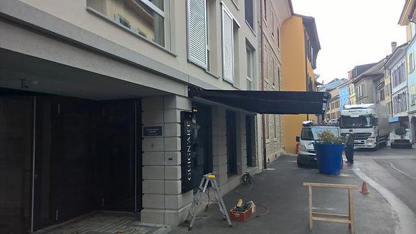 Installation de stores et volets