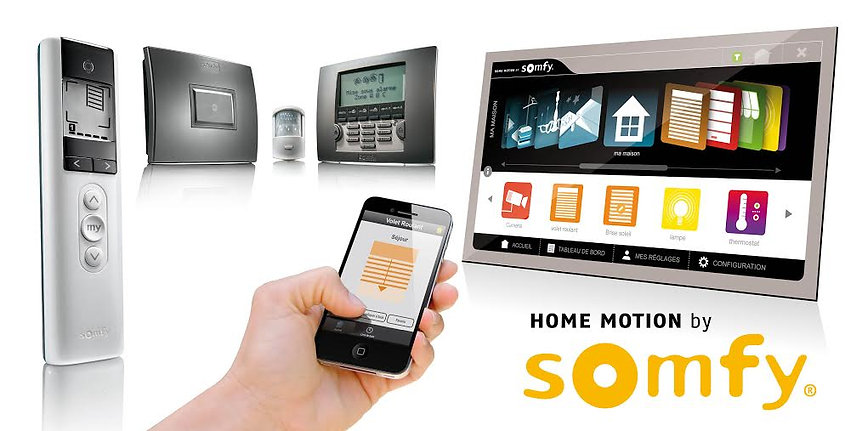 Automatismes Somfy pour stores
