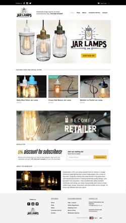 Jar lamps home