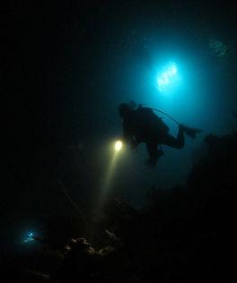 Night Diving St. Thomas US VI