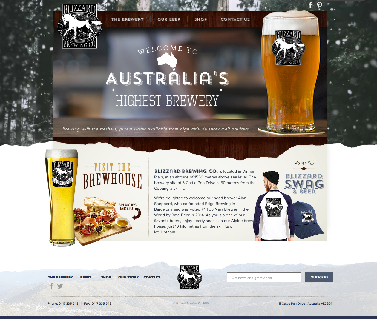 Blizzard Brewing Co