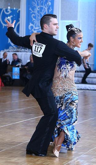 Ballroom dance wear - custom fitting, hemming and restyling.