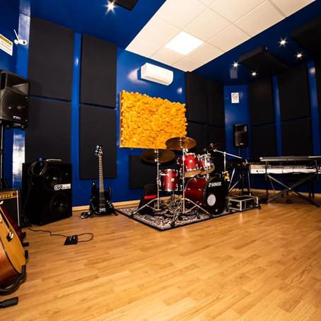 Pillole di Acustica 4 - La sala di ripresa del PW STUDIO prima e dopo i lavori di acustica.