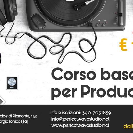 Corso Base per DJ/PRODUCER