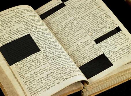 """Hele Bibelen er ikke Guds Ord"""