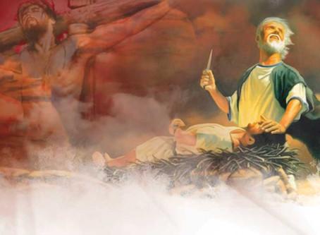 Tok Gud livet av sin sønn