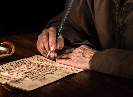 Når Jesus skriver brev...