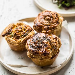 acrette braised beef pies