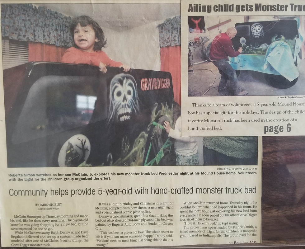 Nevada Appeal News Article