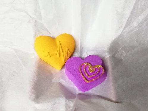 Queen of Hearts Bathbombs Gift set