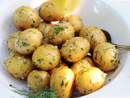 Lemon & Dill Tiny Taters {Vegan, Gluten-Free}