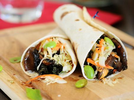 Asian Fusion Veggie Tacos {Vegan, Gluten-Free}