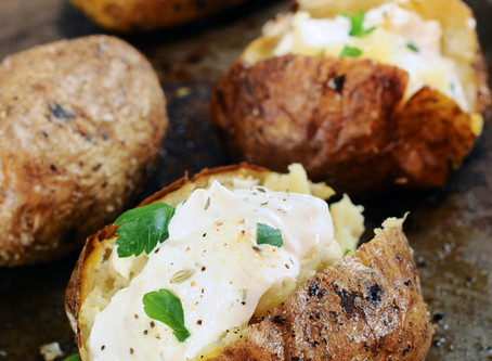 Show Stopper Steak Potatoes with French Onion Sour Cream