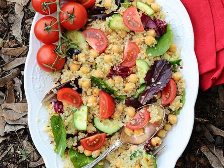 Shine Salad {Vegan, Gluten-Free}