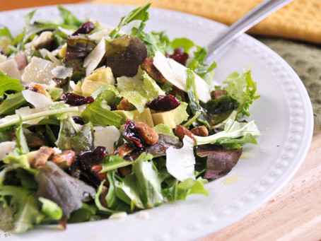 Avocado Pistachio Salad with My Favorite Dressing