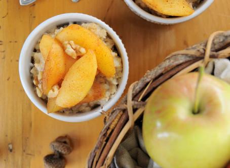 Healthy Fried Apples – Only 3 Ingredients! {Vegan, Gluten-free}