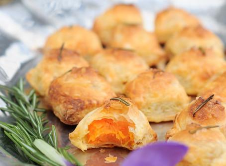 Rosemary Sweet Potato Puffs {Vegan}