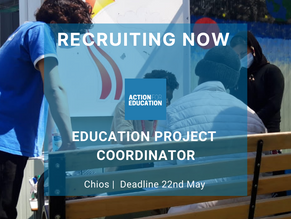 Education Project Coordinator Chios - May 2021