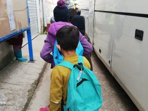 Can every refugee child on Chios really access education?
