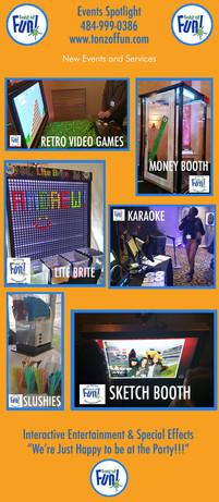 Tonz of Fun Spotlight Events