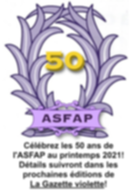 ASFAP 50th gazette.png