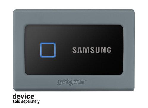 Silicone Bumper for Samsung Portable SSD T7 (gray)