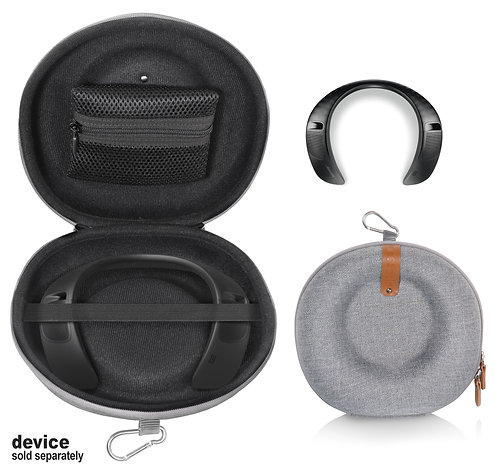 Protective Case for Bose Soundwear Companion Wearable Speaker (tweed gray)