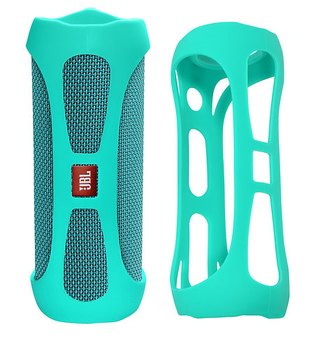 Silicone Bumper for JBL FLIP 4 Bluetooth Speaker (mint)