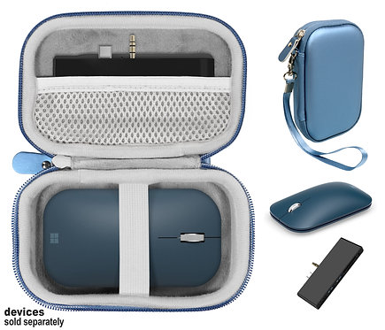 Combo Case for Microsoft Surface Mouse & Docking Station (blue)