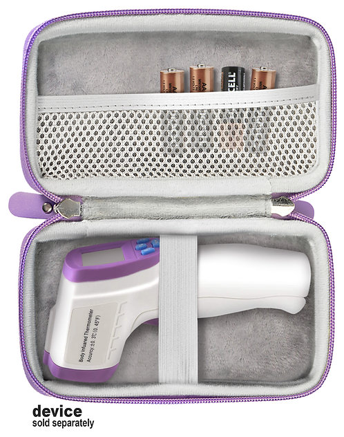 Protective Case for Forehead Thermometer (purple)